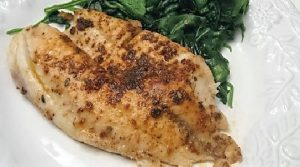Spicy Tea Coated Tilapia